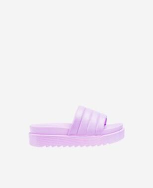 WJS pastelowe klapki damskie w kolorze fioletowym WJS71029-56