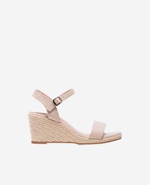 WJS delikatne beżowe sandały damskie  WJS74034-64