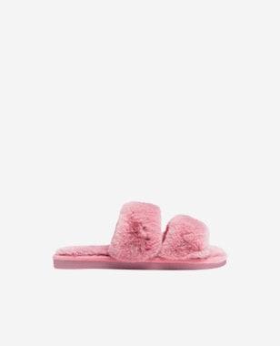 WJS różowe kapcie domowe dla kobiet WJS39003-15