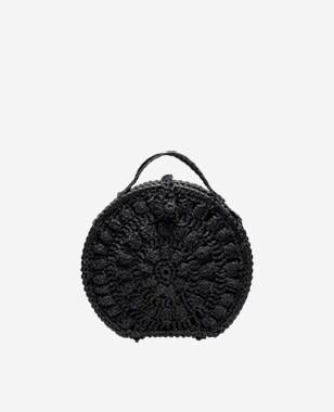 WJS czarna torebka damska z materiału WJS76032-41