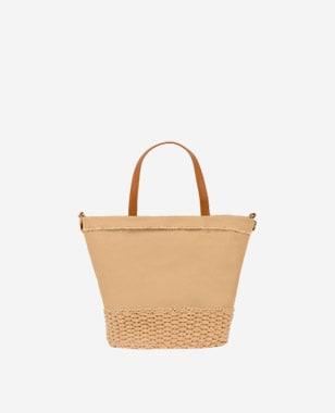 WJS pojemna brązowa torebka typu shopper bag WJS76063-82
