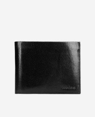 Czarny klasyczny portfel męski  91030-51