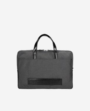 Grafitowa torba na laptopa 15,6
