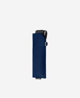 DOPPLER gładki granatowy składany parasol K000003-16