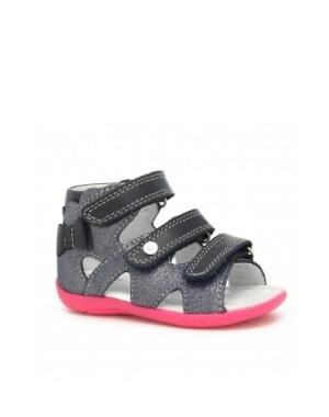 Sandały BARTEK 11707-024, dla dziewcząt, granatowo-różowy 11707-024