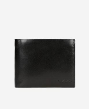 Klasyczny portfel męski w kolorze ciemnego brązu 91030-52