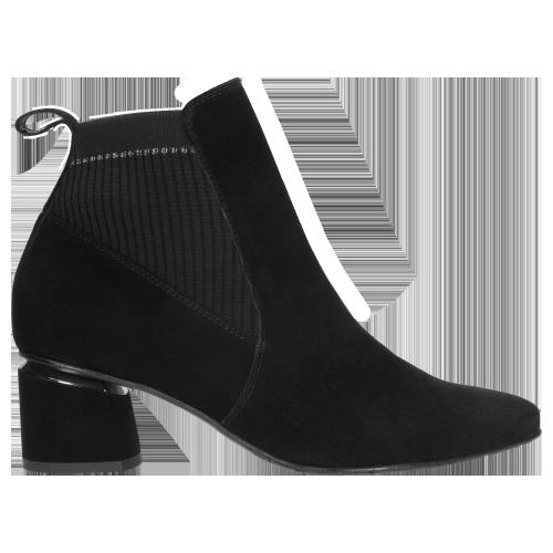 Czarne Botki Damskie Limited Edition