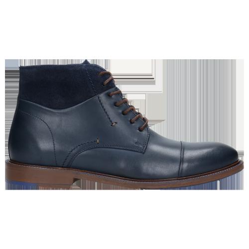 Ciekawe Obuwie Dla Indywidualistów: Granatowe Chukka Boots