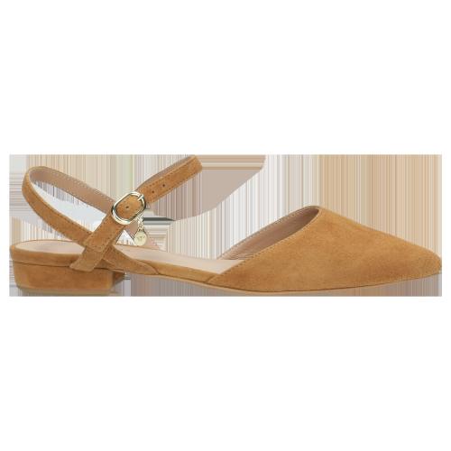 Jasnobrązowe Sandały Dla Miłośniczek Obuwia Z Noskiem W Szpic