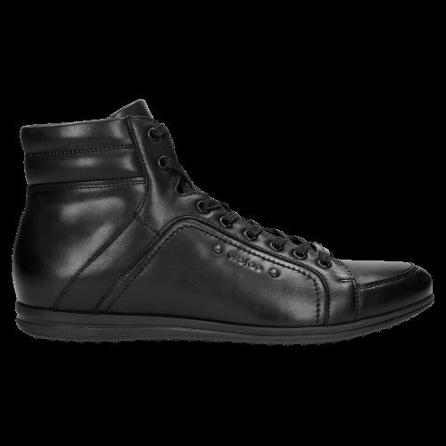 Czarne Jesienne Mêskie Sneakersy