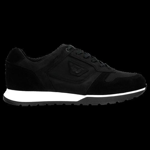 Znakomita Baza Do Modnych Zestawieñ - Czarne Sneakersy